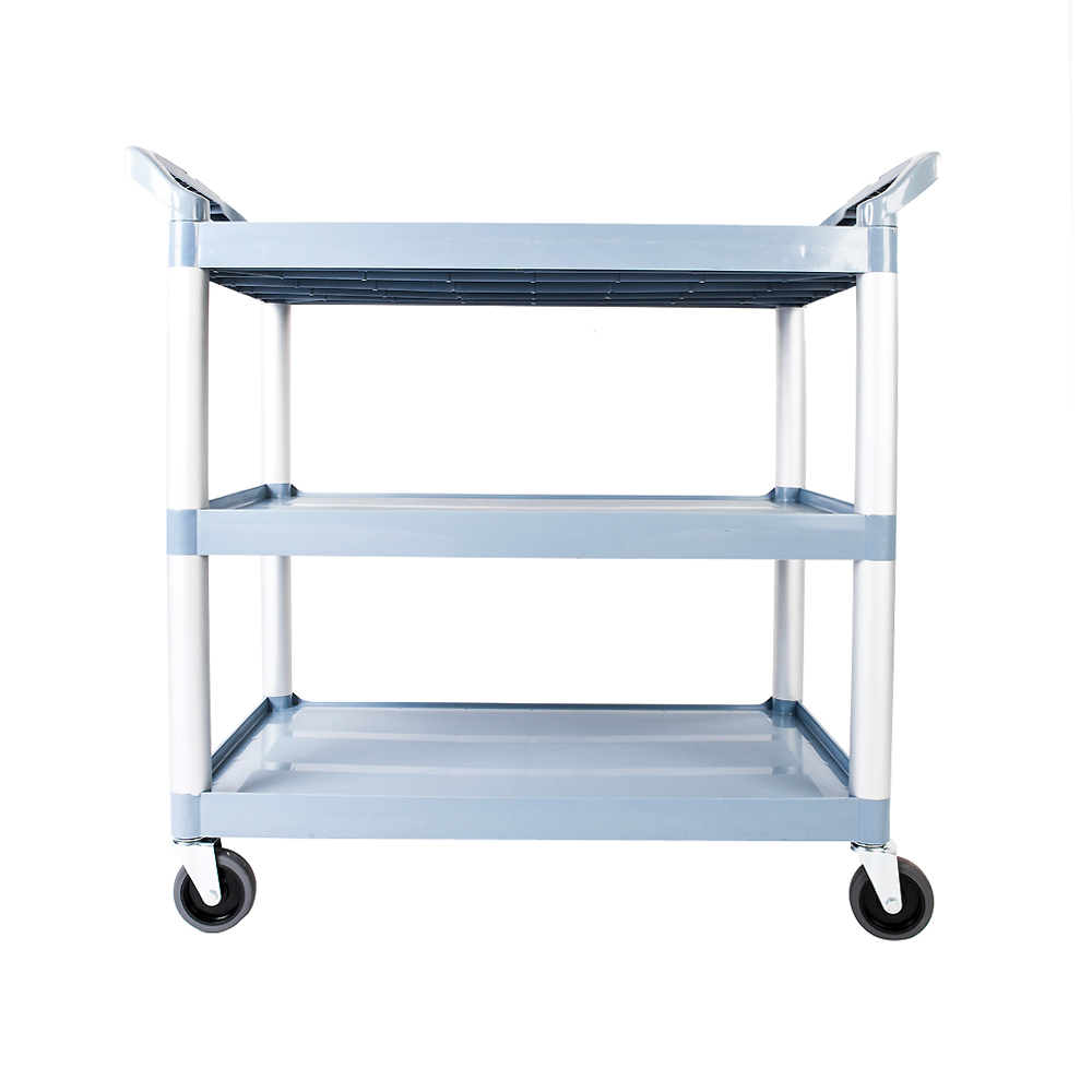Serving and Bus Cart, Kitchen Food Service 3 Tier Heavy Duty ...