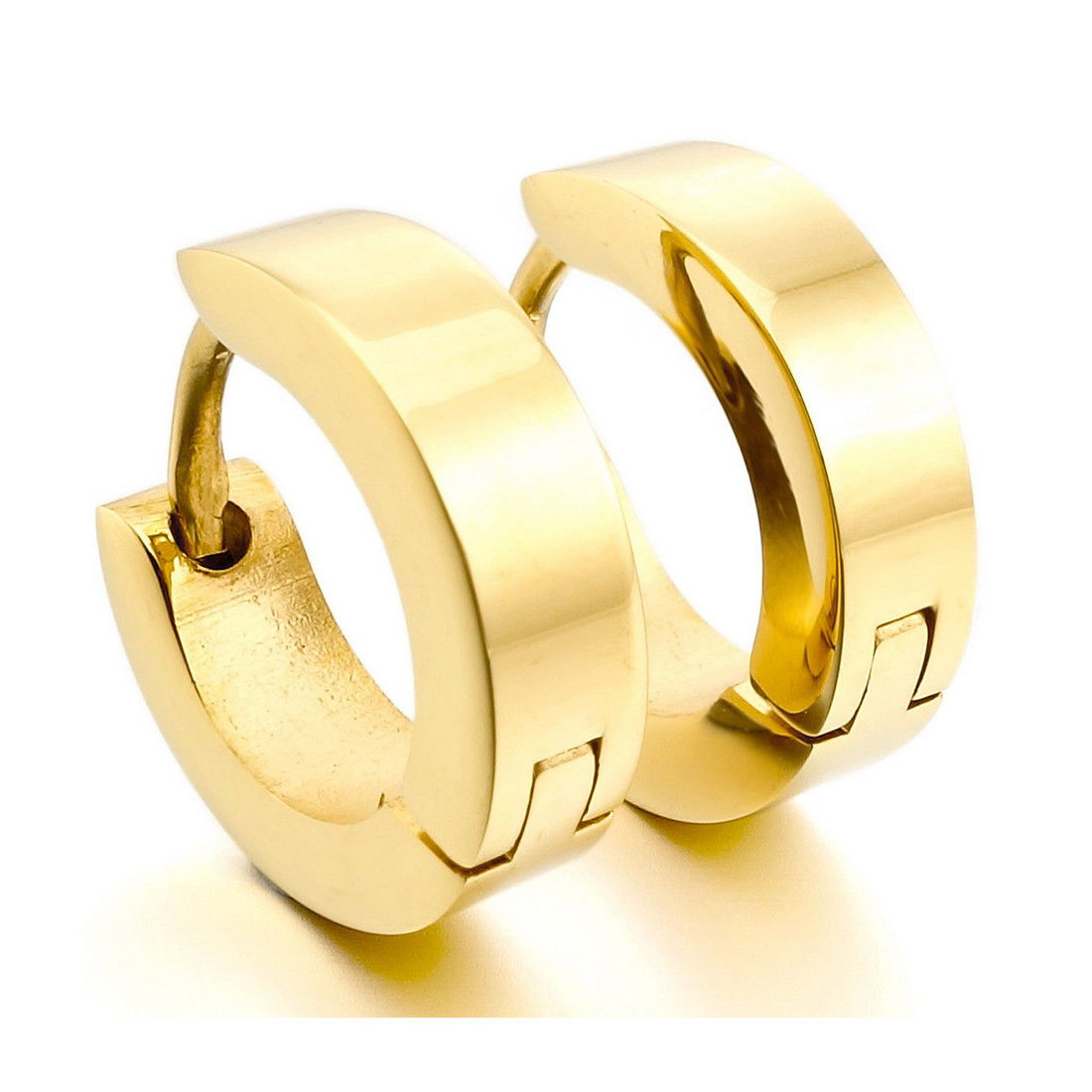 Image Is Loading Men 039 S Cool Stainless Steel Gold Sands