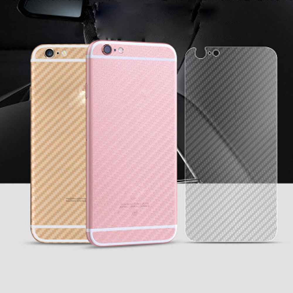 new arrival a121e 24186 Details about CLEAR Thin Carbon Fiber Rear Back Film Protector Sticker Case  Skin iPhone 7 8 X