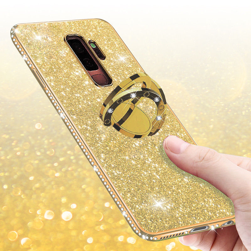 Luxury-Diamond-Bling-Kickstand-Case-Cover-For-Samsung-Galaxy-Note-9-S9-Plus-S8 thumbnail 16