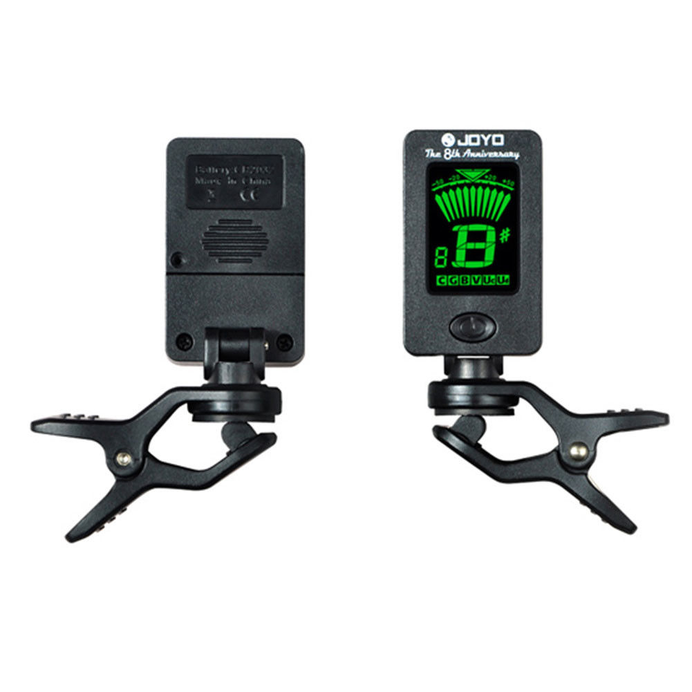 clip on digital lcd oud tuner chromatic electric guitar bass all instrument ebay. Black Bedroom Furniture Sets. Home Design Ideas