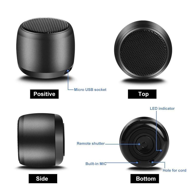 Mini Sport Bluetooth Speaker Wireless Portable Small Body Loud Voice Speaker