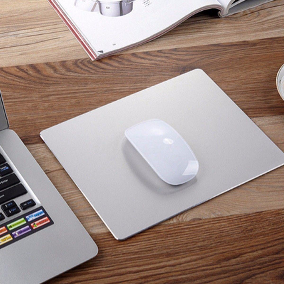 Mouse Mat Aluminum Gaming Pad Macbook Apple ASUS Dell Lenovo PC Laptop Mousepad