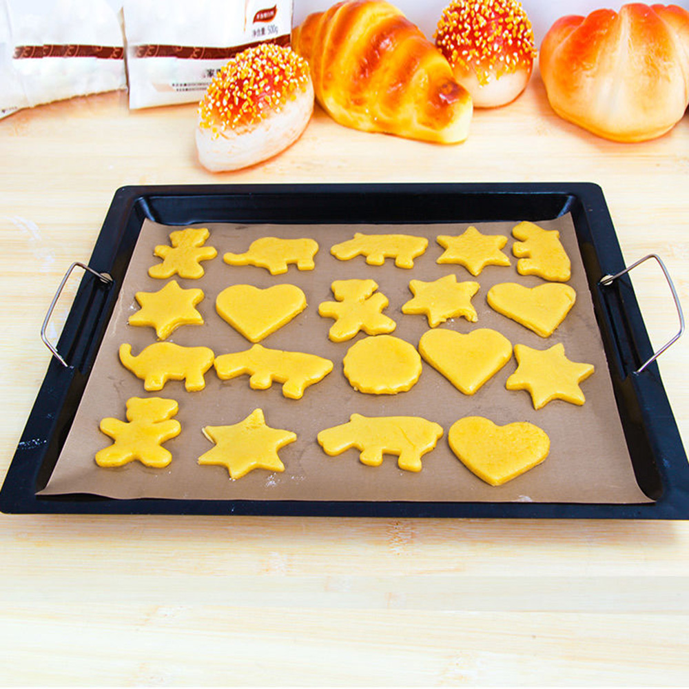 Kitchen Shears In Baking: Reusable Greaseproof Oven Bakeware Baking Pad Mat Cooking