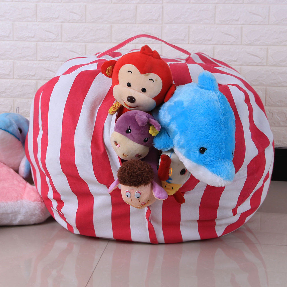 Ordinaire Kids Stuffed Animal Toy Cotton Bean Bag Storage