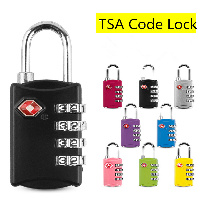 Dial Combination Travel Suitcase Luggage Bag Code Lock