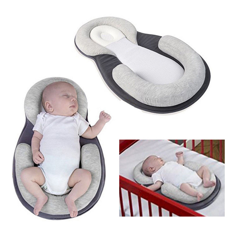 Baby Infant Cradle Crib Newborn Sleeper Bassinet Travel Bed Nursery Basket Mesh