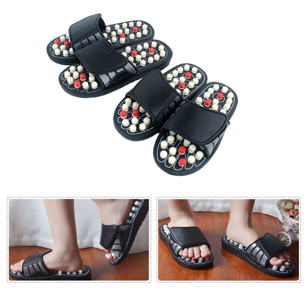 142f893eb659 Details about Massage Slippers Sandal Feet Acupressure Acupuncture  Reflexology Therapy Medical