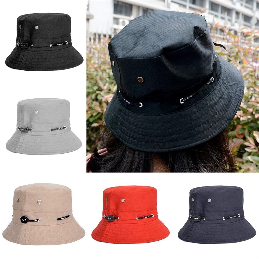 Details about Unisex Bucket Hat Hunting Fishing Outdoor Cap Men s Summer  Sun Hats 832848d1434b