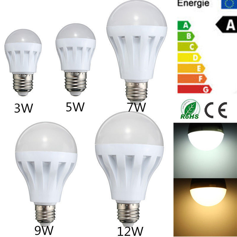 new 5w 7w 9w e27 pir infrared motion sensor detection auto lamp led light bulb ebay. Black Bedroom Furniture Sets. Home Design Ideas