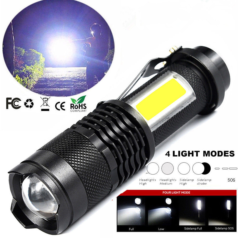 LED-Flashlight-2000LM-Baseball-Bat-Light-Tactical-Torch-Lamp-Security-Zoomable