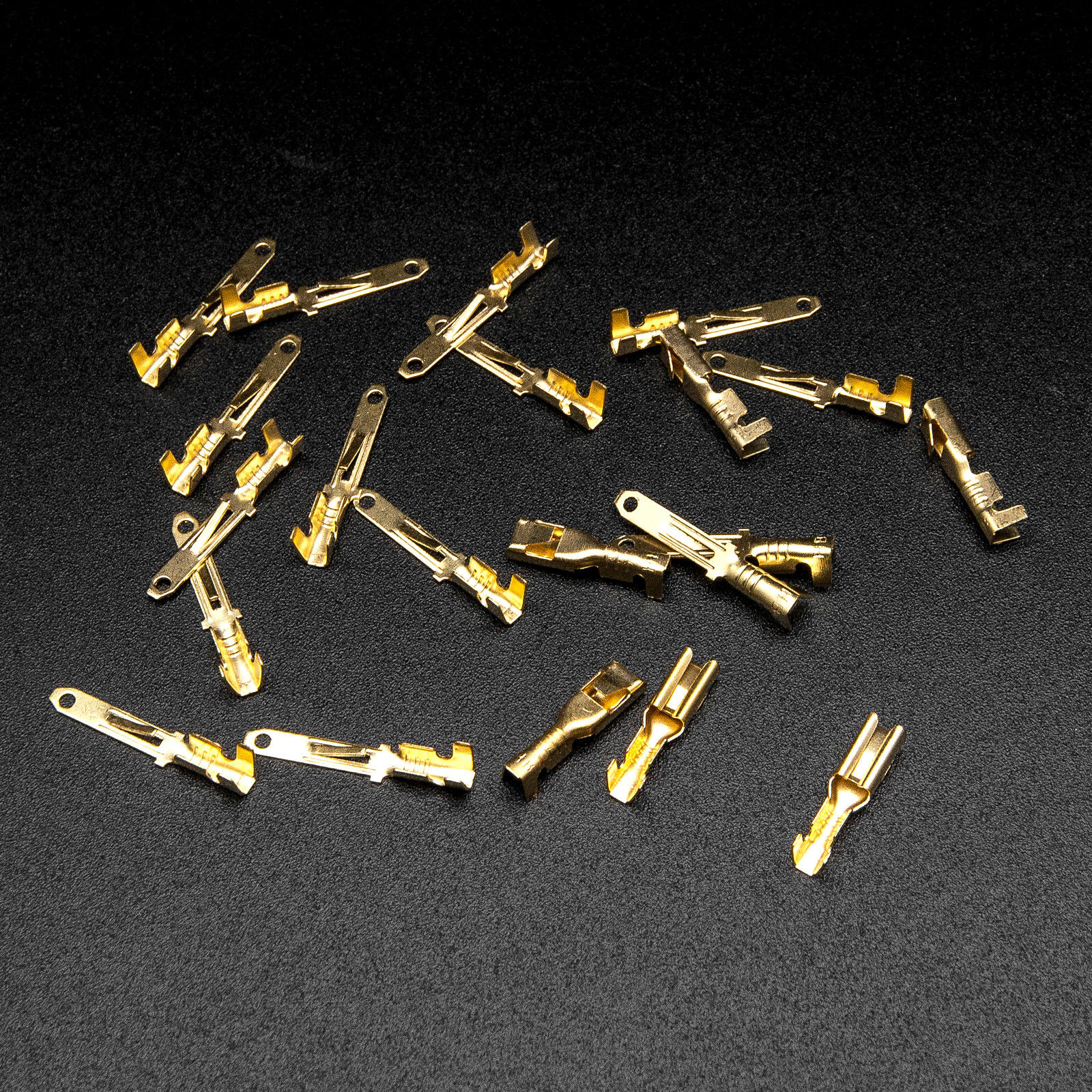 40 Set Motorcycle Car Electrical 2.8mm 2 3 4 6 Pin Wire Auto ...