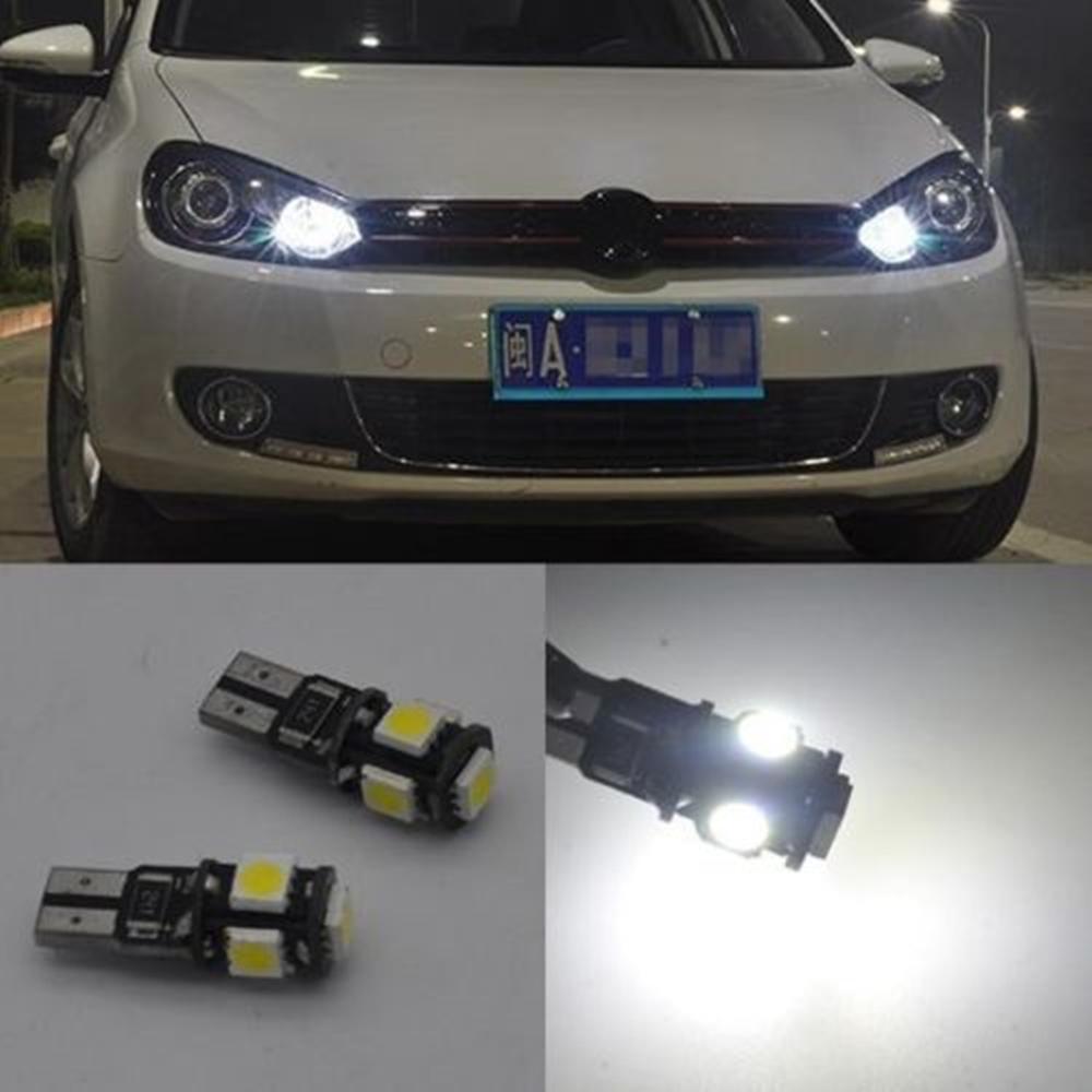 2x Error Free Led Parking City Light Bulb For Vw Golf Mk6