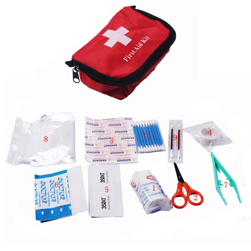 ... Emergency First Aid Kit Bag For Car Outdoor