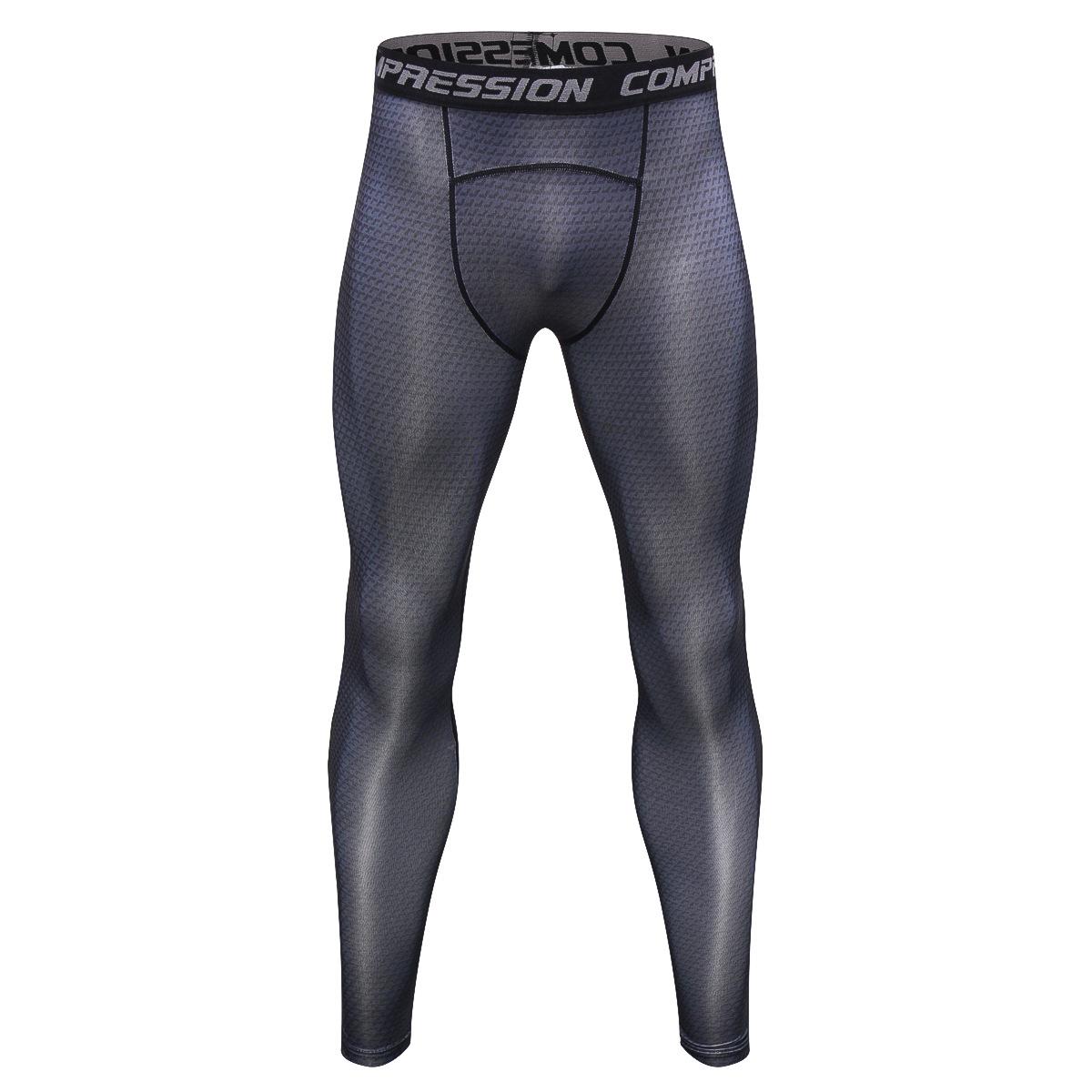 46a9267b895 Men s Tight Compression Base Layer Pants Sports Long Leggings ...