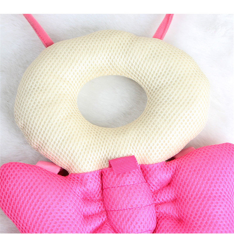 Baby Safety Protection Head Pad Headrest Learning Walking Anti-tumble Butterfly
