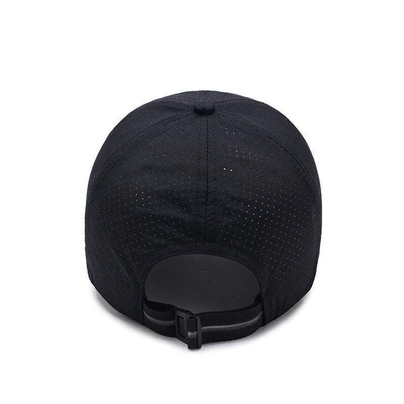 4969b6b59ba Man Summer Snapback Quick Dry Mesh Baseball Cap Sun Hat Bone Breathable Hats