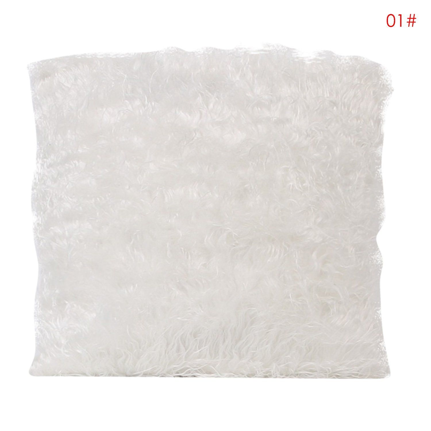 Square Throw Pillow Cases : 18 Faux Fur Throw Pillow Cases Bedroom Decor Cushion Cover Square Pillow New eBay