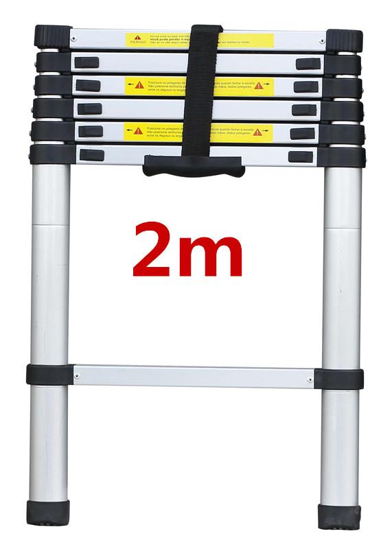 2/2.6/3.2M Multi Purpose Aluminium Ladder Telescopic Folding Extension Step 2