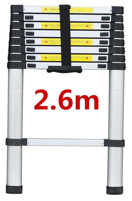 2/2.6/3.2M Multi Purpose Aluminium Ladder Telescopic Folding Extension Step 3