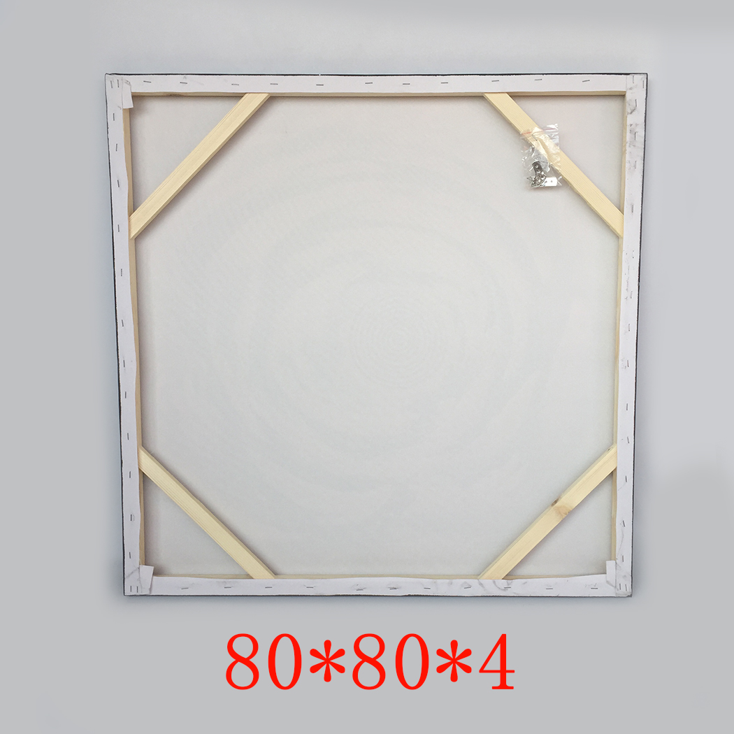 Framed-80-80cm-Abstract-Handmade-Oil-Painting-Wall-Art-Decor-Canvas-With-Frame thumbnail 2